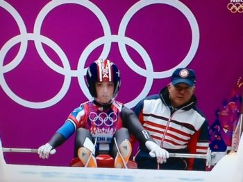 Erin Hamlin/Wins Bronze at Olympics in Sochi 2014