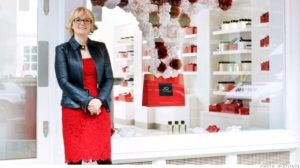 Jo Malone--beauty products entrepreneur