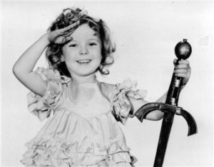 """Shirley Temple as """"Little Miss Marker""""--file photo--1933"""