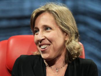 Susan Wojcicki, new leader of YouTube--Photo: Asa Mathat