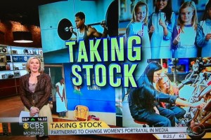 Lee Woodruff, CBS This Morning on piece about Taking Stock with Getty Images