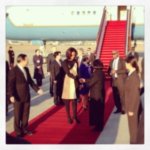 Michelle Obama in China/3/2014