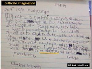 Mitzi Montoya's Letter from Charlotte/ from Mitzi Montoya