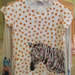TWE FUN STUFF: Spring Style with Orange Polka Dots and Zebras