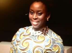 TED 2014--Chimamanda Ngozi Adickie--Photo; Screenshot TED