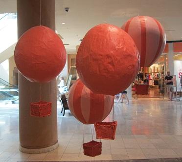 Anthropologie's balloons