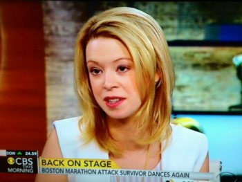 Boston Marathon Victim Adrianne Haslet-Davis Dances Again/cbsnews.com
