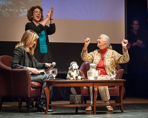 Jane Goodall/Dominican University-Book Passage Event 4/4/14