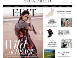 Net-a-Porter Online Shopping Site