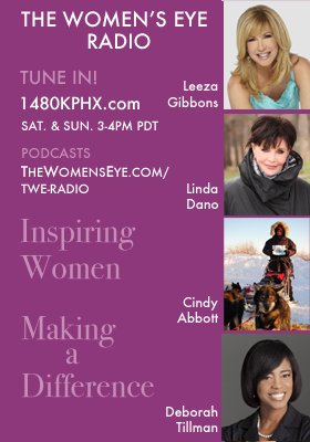 "The Women's Eye Radio ""Inspiring Women, Making a Difference."" thewomenseye.com/twe-radio"
