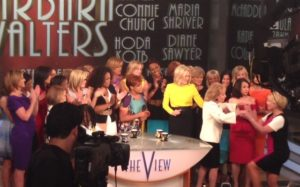 Barbara Walters and Hosts of 'The View""