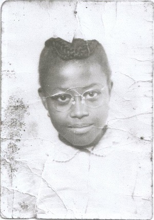 Estella Pyfrom as a young girl