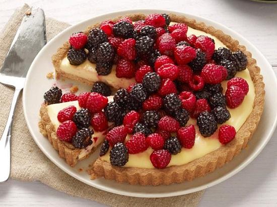 Memorial Day Cheesecake Tart/The Food Network