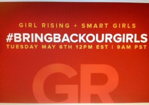 Google Hangout for #bringbackoutgirls