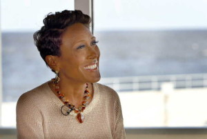 Robin Roberts, author, at Pass Christian's--Photo: Tim Isbell/Sun Herald
