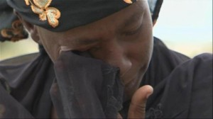 Nigerian Mother Crying over Missing Daughter/NBCNews