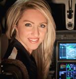 Amelia Rose Earhart in Cockpit