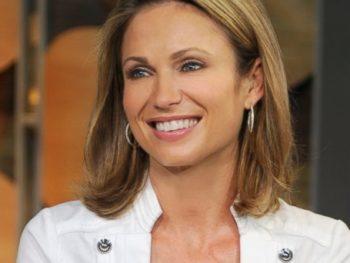 Amy Robach--Good Morning America anchor/ABC