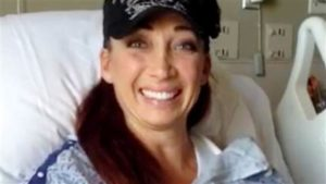 Amy Van Dyken-Rouen, Olympic swimmer who was injured--Today