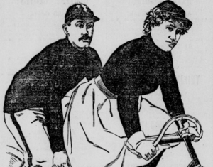 Bicycle illustration from Library of Congress