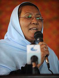 Habiba Sarobi-Gov of Bamyan 4/11--Wiki
