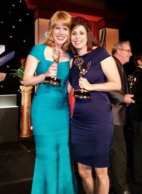 Stacey Gualandi/Allison Anslinger win Emmys