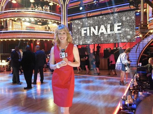 Stacey Gualandi covering Dancing with the Stars Finale, May 2014