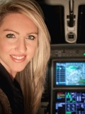 Amelia Rose Earhart Aims to Complete Her Namesake's Flight Around the World