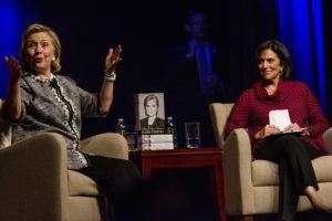 Hillary Clinton, Lissa Muscatine--Washington Post