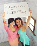 Carrie Kroop and Zenobia Mertel of Interview Forward