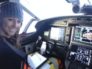 Amelia Rose Earhart, pilot