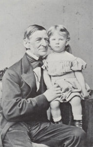 Ralph Waldo Emerson and grandson Ralph Emerson Forbes