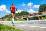 Anna Judd who ran a marathon a day to focus attention on the problems of military vets | Photo: Miss Robot Photography