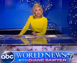Diane Sawyer saying Goodbye, stepping down as anchor of ABC World News