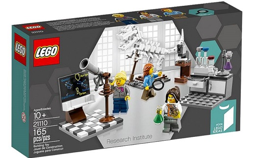 LEGOS Female Scientist Figurines