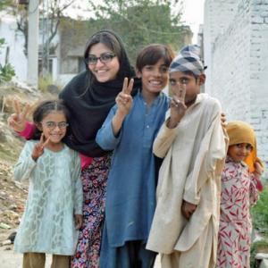 Gulalai Ismail/founder AWARE GIRLS in Pakistan