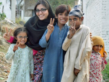 Gulalai Ismail/founder AWARE GIRLS in Pakistan
