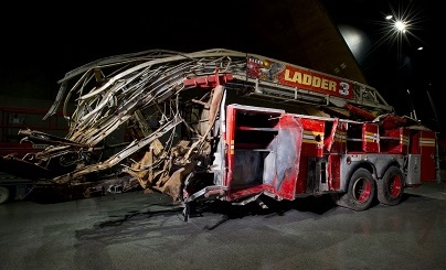 Ladder 3 truck at 9/11 Museum/Photo: Jin Lee