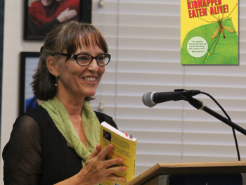 "Author Laurie King shares her true stories from ""Lost Kidnapped Eaten Alive"""
