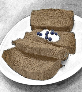 "Laurie King's grandmother's brown bread from her book ""Lost Kidnapped Eaten Alive!"" 