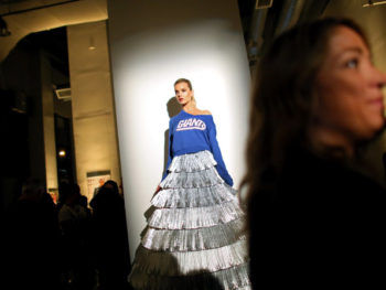 NFL Fashion Show, Manhattan/Photo: Yana Paskova/NY Times