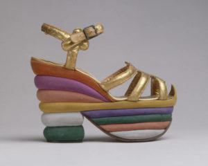 Ferragamo Sandals at Brooklyn Museum 'Killer Heels' Exhibit
