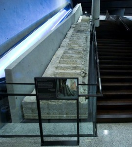 survivor's stairs from 9/11 Memorial Museum/Photo: Jin Lee