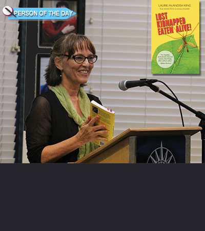 Author Laurie McAndish King Gets 'Lost Kidnapped Eaten Alive!'