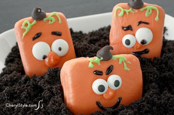 Cheryl Najafi's Jack-O-Lantern cookies/Photo: CherylStyle
