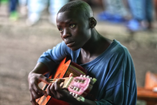 Mimo Khair, Lebanese photographer, shoots Congo Child Soldier
