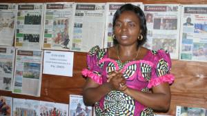 Solange Lusiku Nsimire/journalist in DNC/npr.org