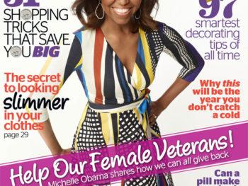 November Redbook--Michelle Obama