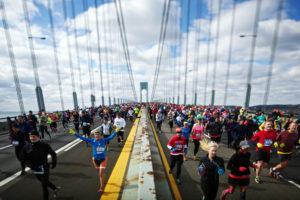 Women in NYC Marathon/NY Times