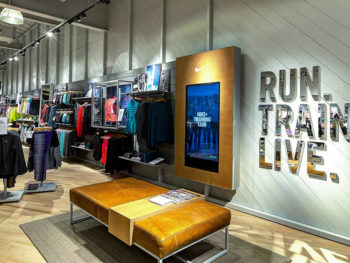 Nike Women's Store/Photo--Nike Inc